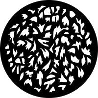 Rosco 71026 M size Gobo 1026 Foliage Breakup
