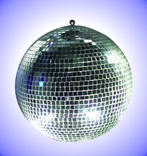 StageStore 60404 Mirror Ball Without Rotator - 200mm (8inch)