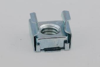 100 x Rackmount Cage Nut - M4 Wide Slot
